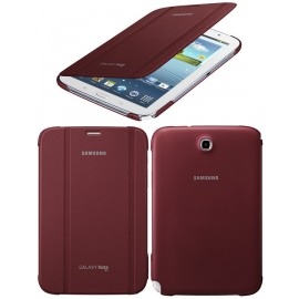 Housse de Protection et Support Book Cover Samsung EF-BN510BREGWW - Couleur Rouge Bordeaux pour Samsung Galaxy Note