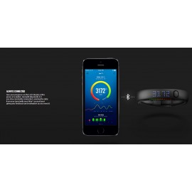 Nike+ FuelBand Noir Taille : Small