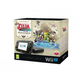 Nintendo Wii U Premium 32 Go + The Legend Of Zelda : Wind Waker Hd