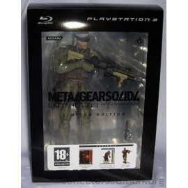 Jeu PS3 Metal Gear Solid 4 COLLECTOR