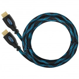 CÂBLE HDMI 1.4FULL HD - FULL 3D -High Speed with Ethernet 0.9M