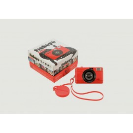 Lomography Fisheye Compact Appareil Photo 35mm Rouge 9007710005142
