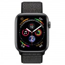 APPLE WATCH SERIES 4 GPS + CELLULAR ALUMINIUM GRIS BOUCLE SPORT NOIR 44  MTVV2NF/A