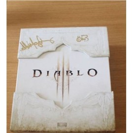 DIABLO 3 III EDITION COLLECTOR DEDICACE