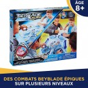Beyblade - Set de Combat Double Surface Beyblade Burst Evolution SwitchStrike – Arene multiniveaux  5010993510818