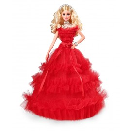Barbie Signature poupée de collection tenue de Noël 0887961631975
