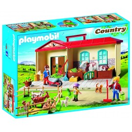 Playmobil - 4897 Country - Ferme transportable