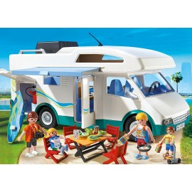 Playmobil 6671 Famille avec camping-car DESIGNERS