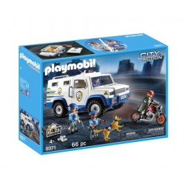 Playmobil - 9371 City Action - Fourgon blindé avec convoyeurs de fonds