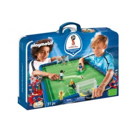 Playmobil 9298 Stade de foot transportable FIFA - Russie 2018