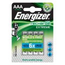 Lot piles rechargeable AA Extreme, 2300 mAh, ENERGIZE