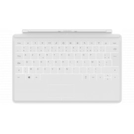 Microsoft Clavier Touch Cover pour tablette Surface BLANC